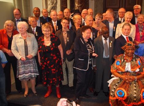 HellenJGill20140425 Koninklijke Onderscheiding Marije van Urk.