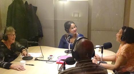 Marije van Urk: Studio Bondru FM Omroep.