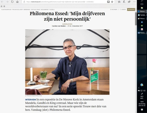 Philomena JME Essed Interview Trouw1