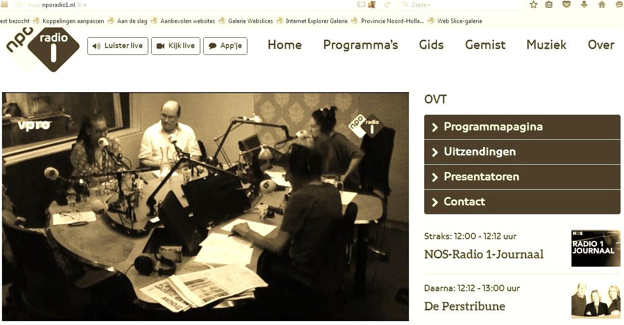 Prof dr GloriaWekker20160605 NpoRadio1. White Innocent (Witte Onschuld)