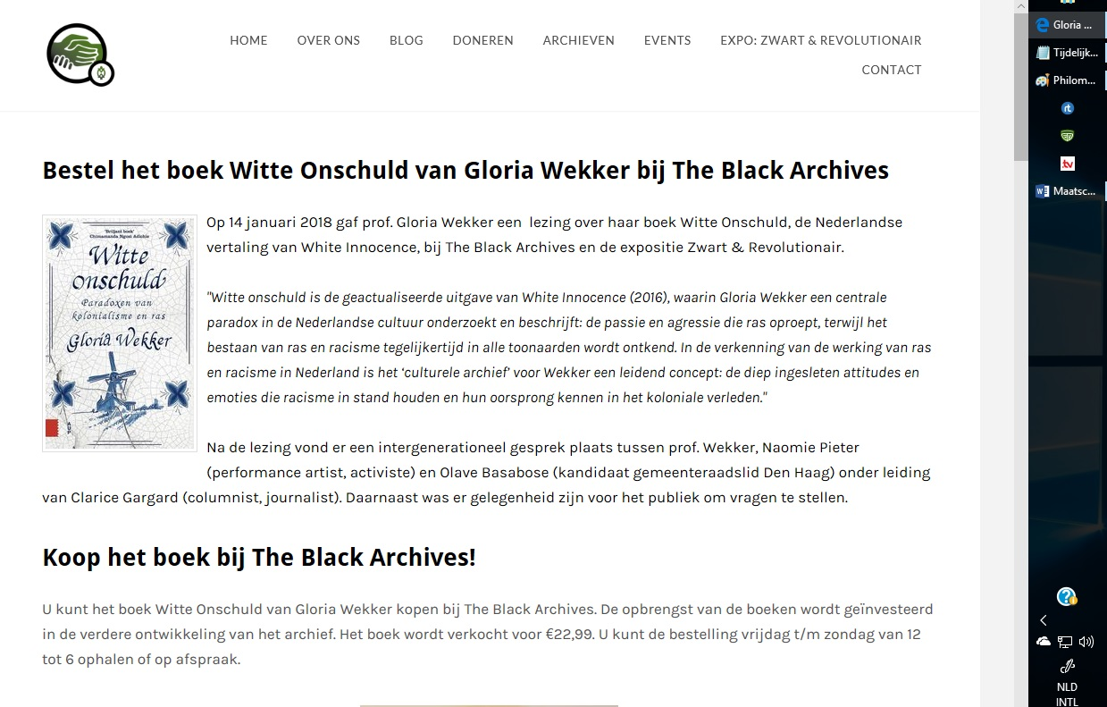 Gloria Wekker Black archives1