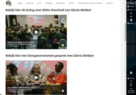 Gloria Wekker Black archives2