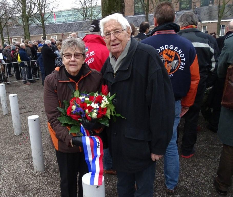 Marije van Urk, Herdenking Februari Staking, Dokwerker, Amsterdam.