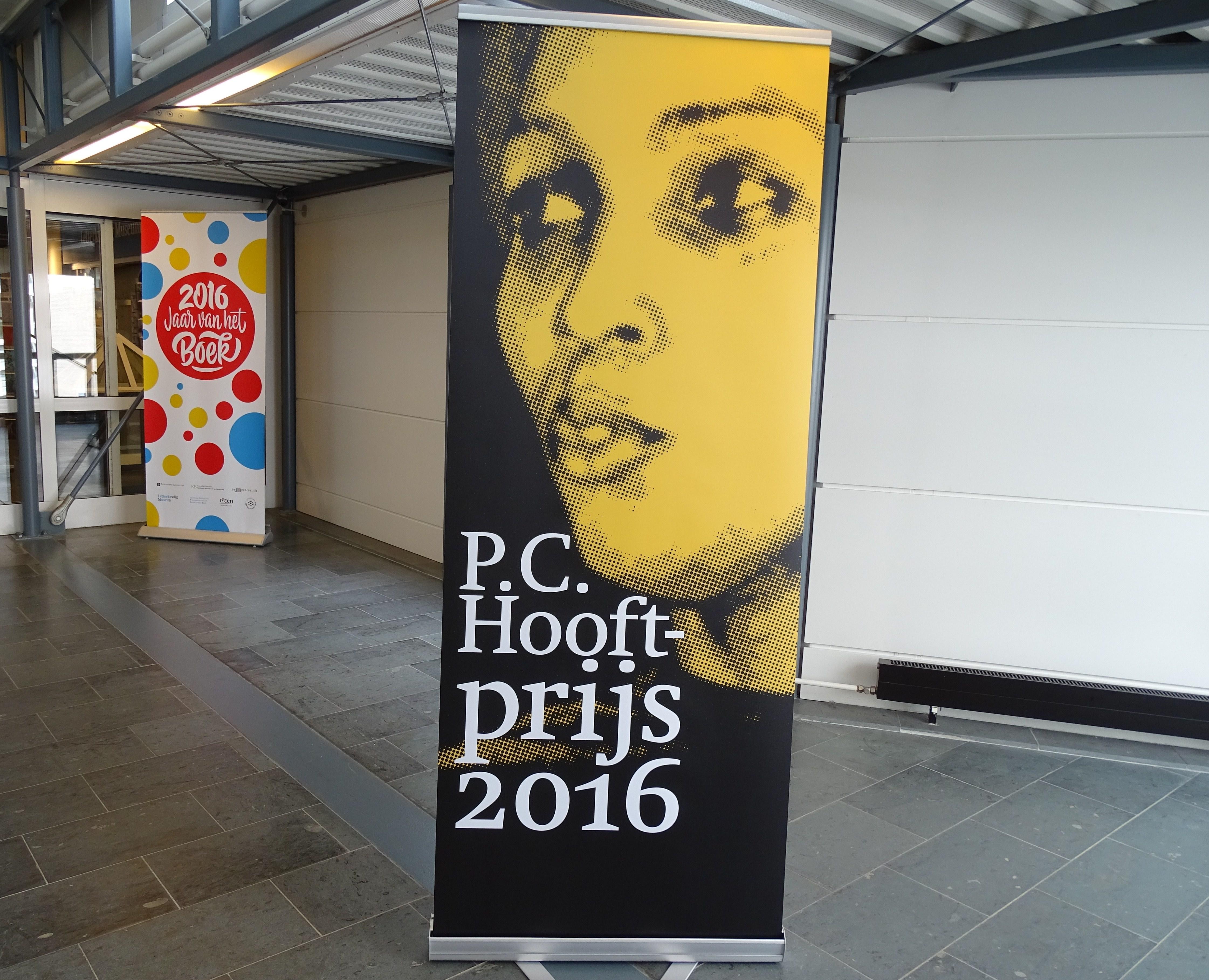 Astrid H Roemer P C Hooftprijs 19 mei 2016.