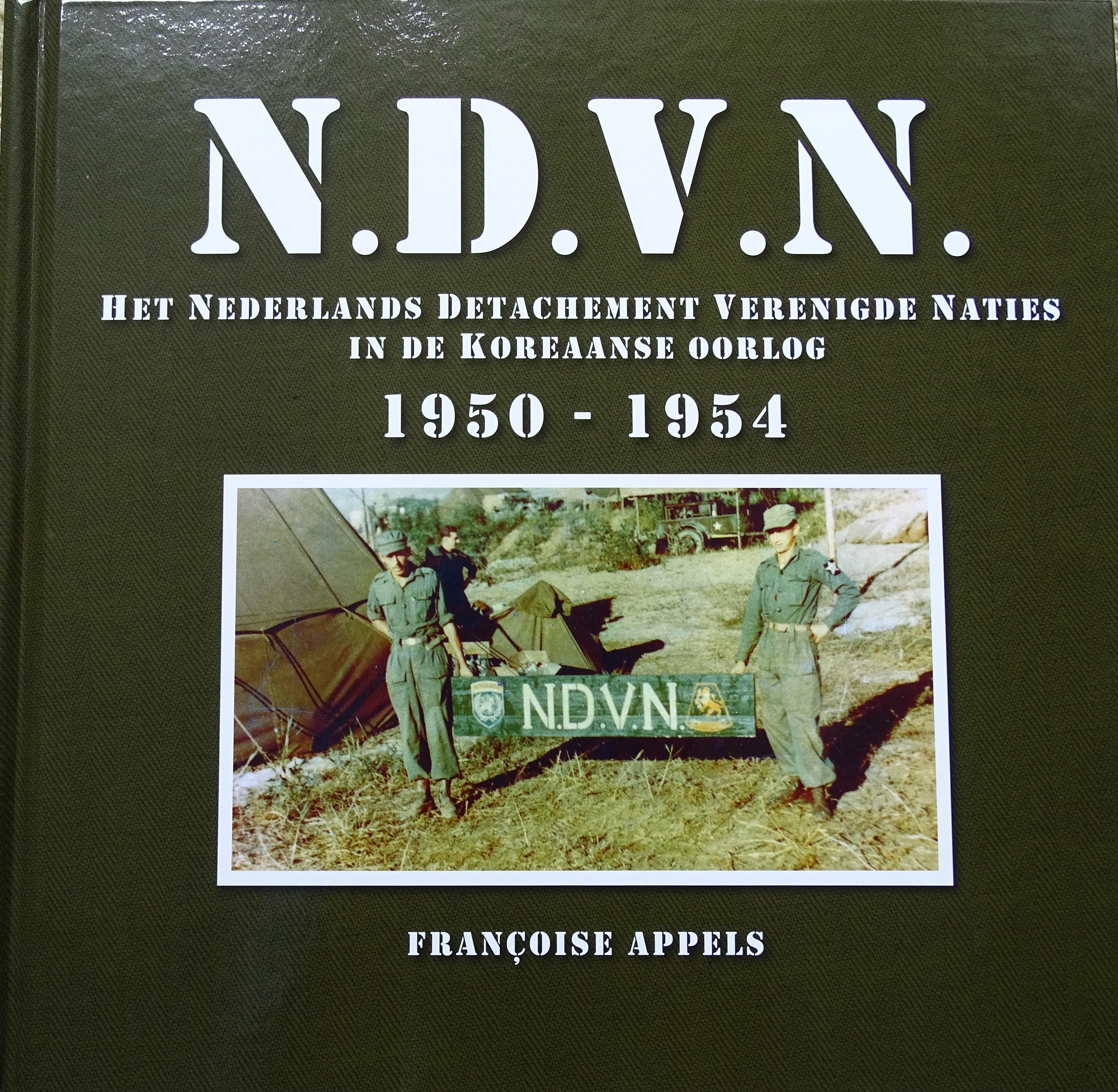 Françoise Appels, auteur van NDVN (Het Nederlands Detachement Verenigde Naties in de Koreaanse Oorlog (Surinamers in Korea)