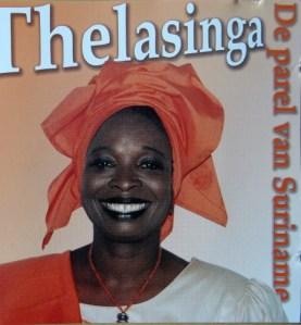 Thelma Ment (Thelasinga) De Parel van Suriname CD in bezit vnHellenJGill