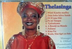 Thelma Ment (Thelasinga) en nicht van Wilgo Hugo Pique, De Parel van Suriname CD in bezit vn Hellen Gill and Friends (Hellen Jeanette Gill). 1951-2018 lees Facebook Irwin Ment.
